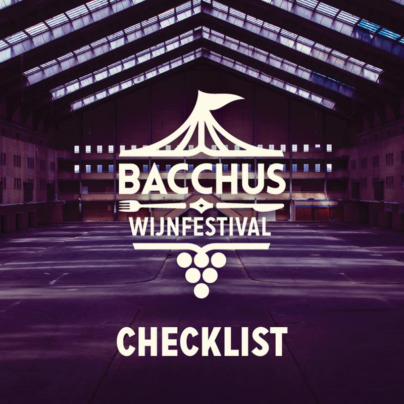 Bacchus Wijnfestival – Checklist!